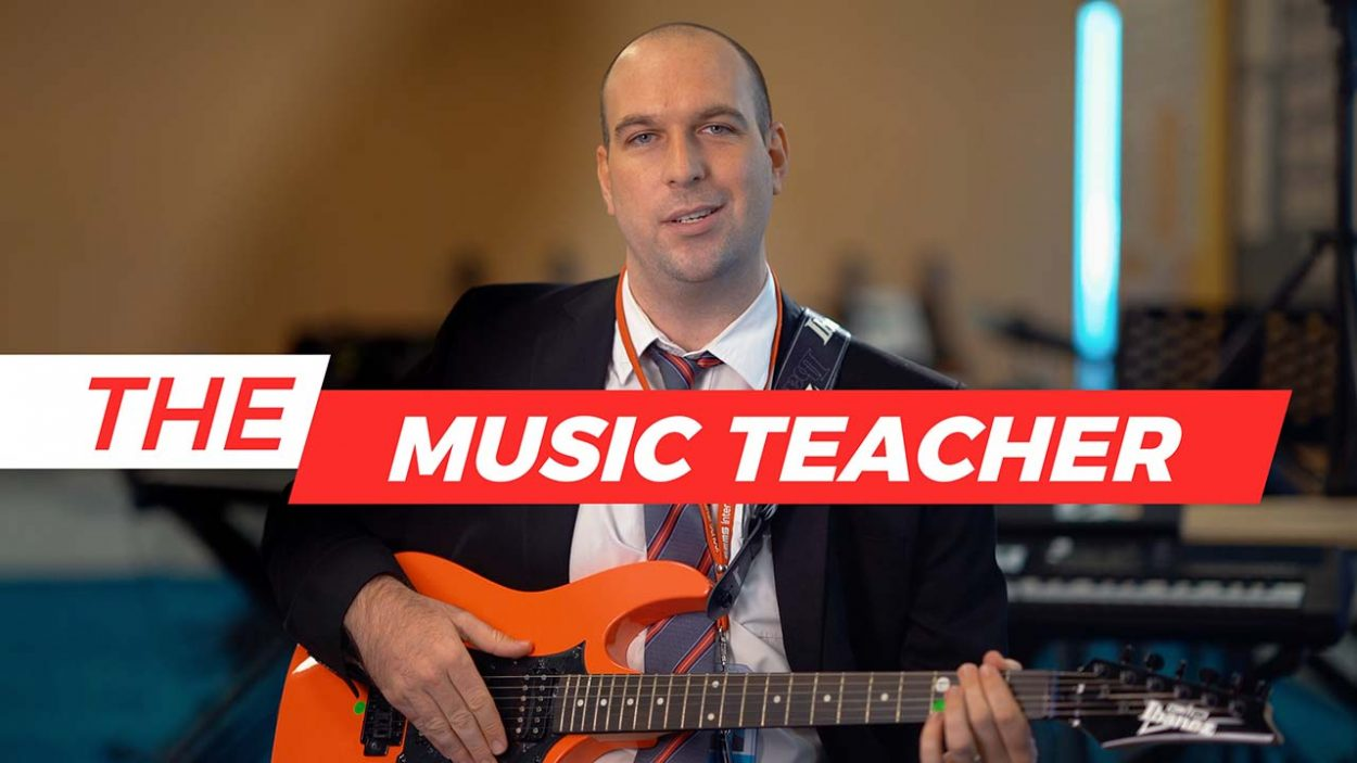 Music Teacher of GEMS International School by WolFang Digital
