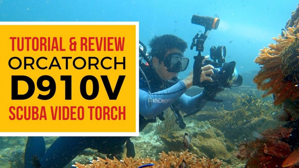 OrcaTorch D910V Scuba Diving Torch Review by Baron Abas