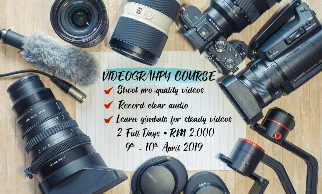 Videography Course 2019 by WolFang Digital