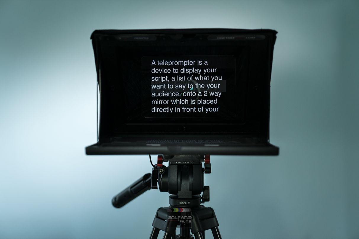 Quick, easy teleprompter services no more memorising scripts