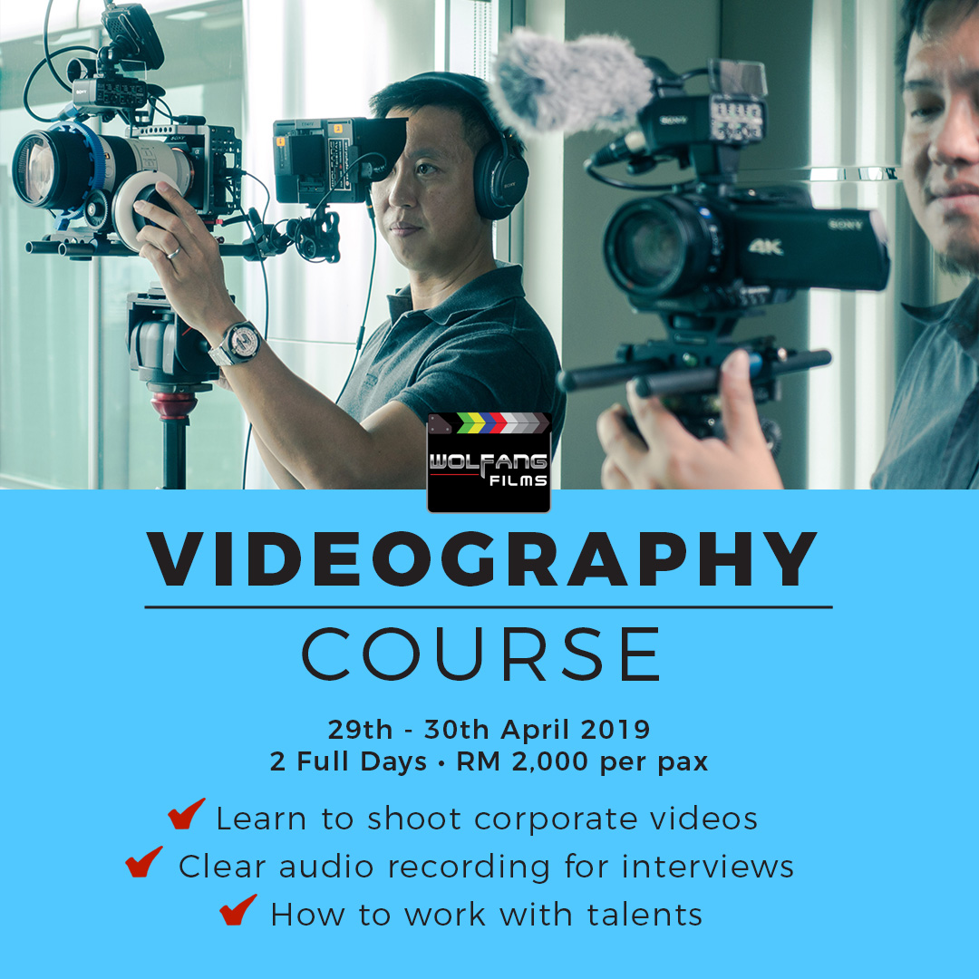 Videography Course by WolFang Digital