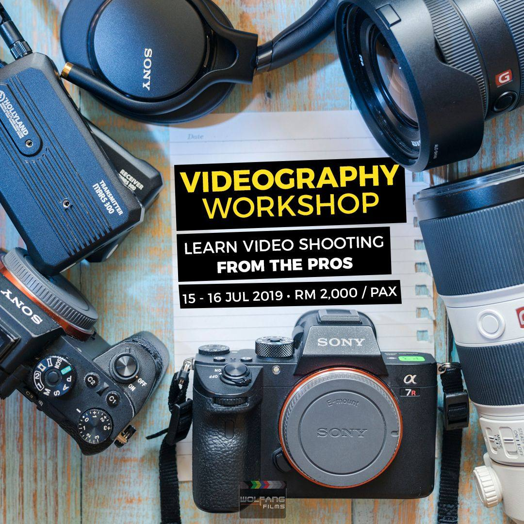 Videography Course taught by professional videographers at WolFang Digital