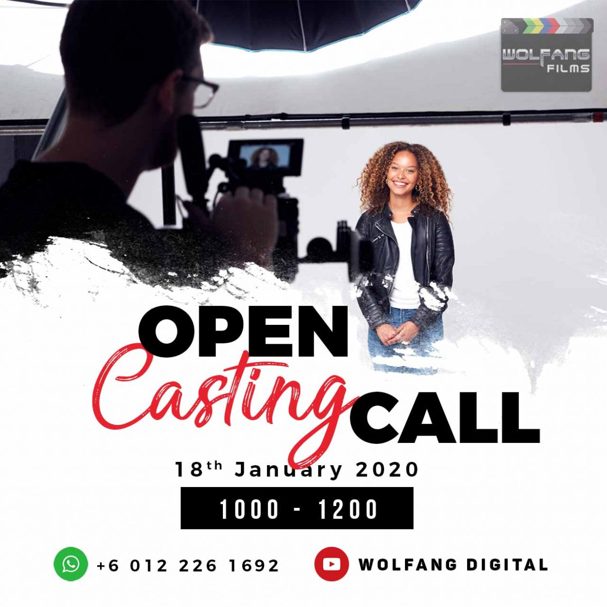 Open Casting Call (WolFang Digital)
