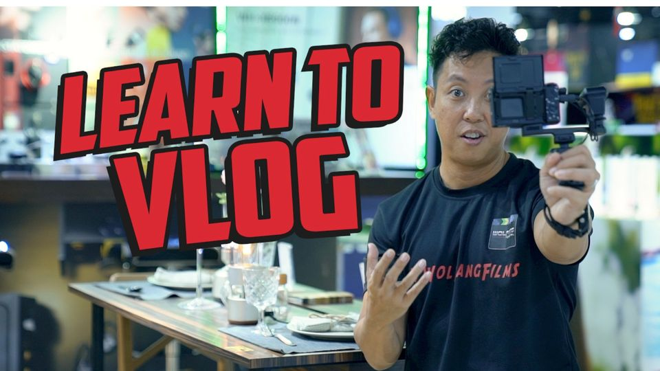 Vlog workshop with Baron Abas: Wanna Be A YouTuber