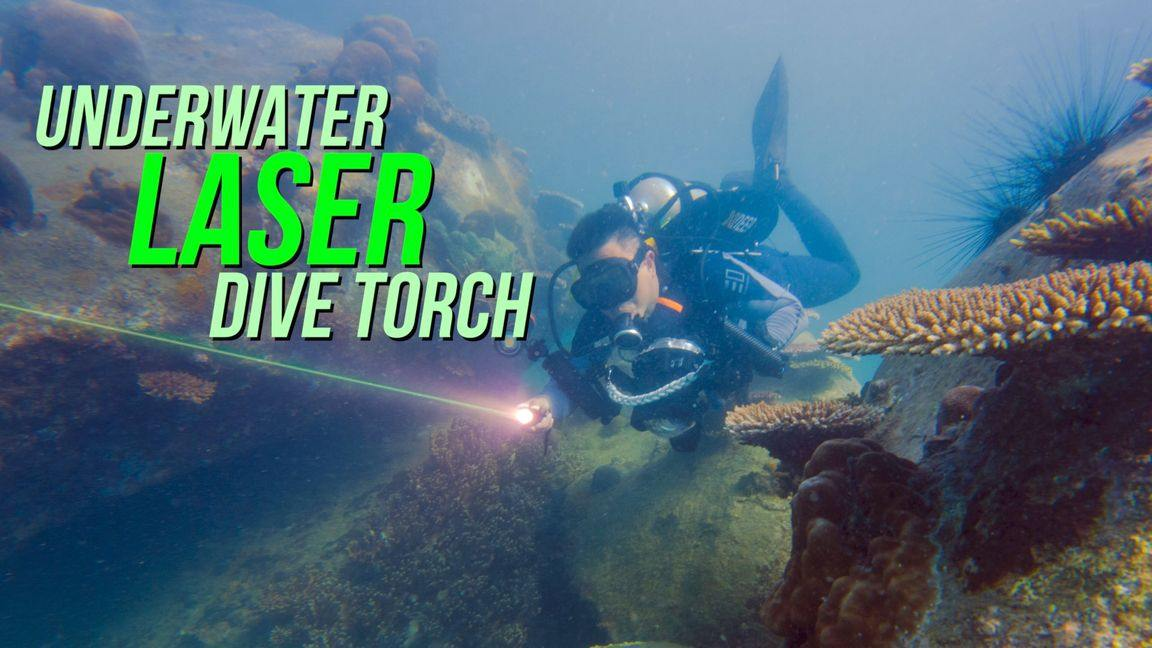 OrcaTorch D570 GL dive torch review by Baron Abas, WolFang Digital