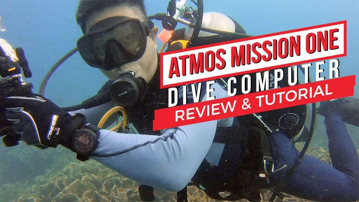 Atmos Mission One Dive Comp Review by Baron Abas, WolFang Digital