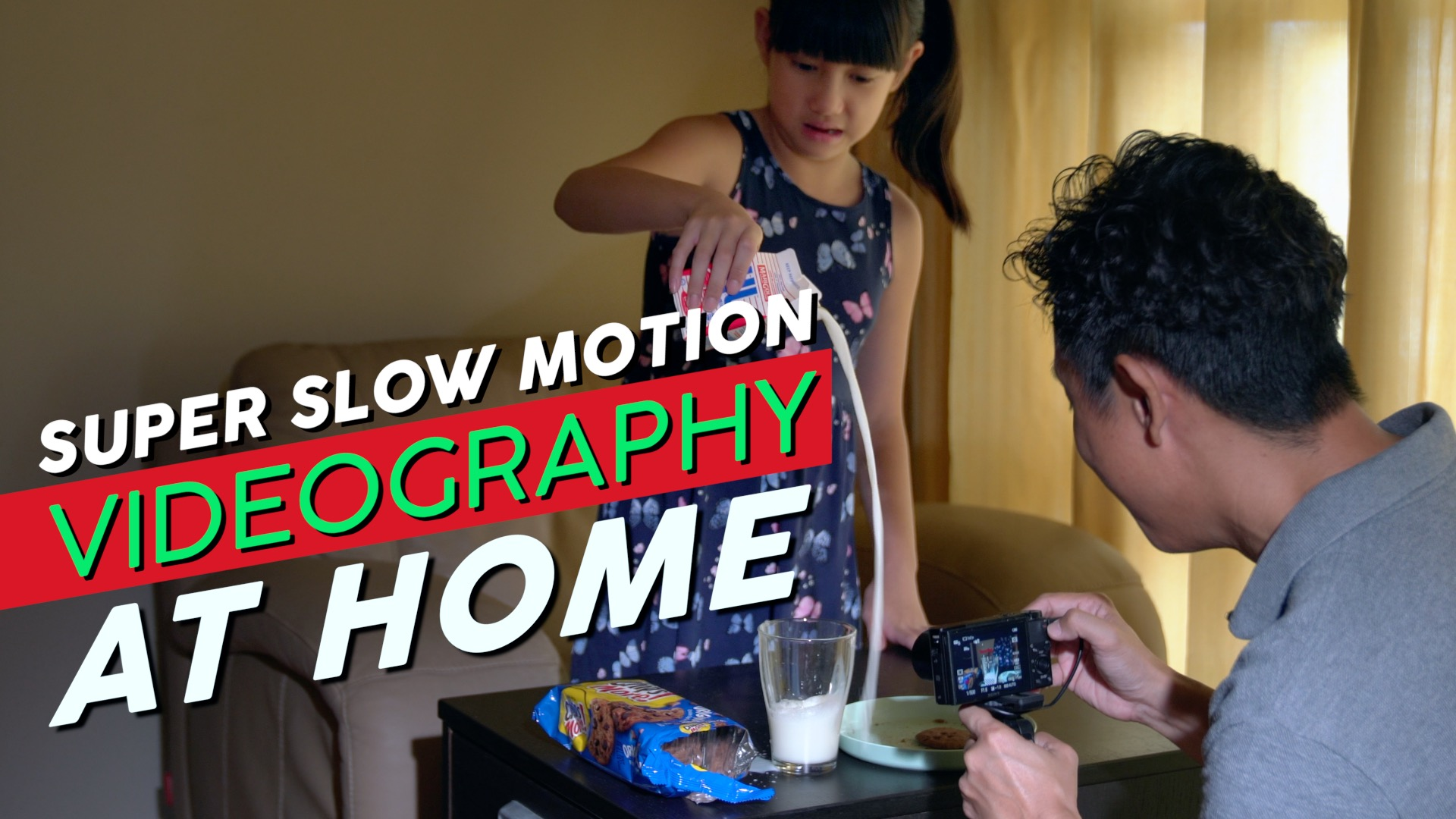 Learn video shooting and editing at home with Baron Abas, WolFang Digital