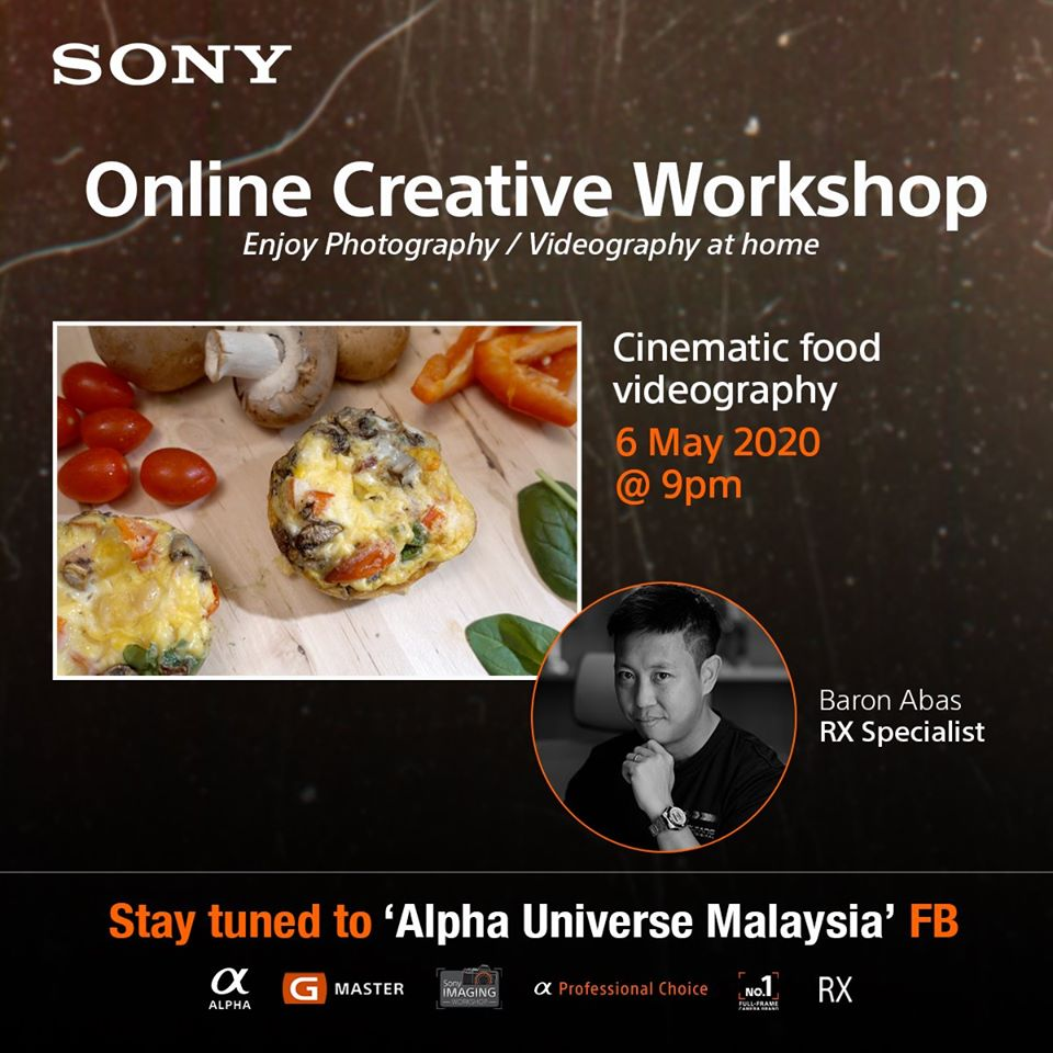 Sony Online Food Videography Workshop episode 2 by WolFang Digital
