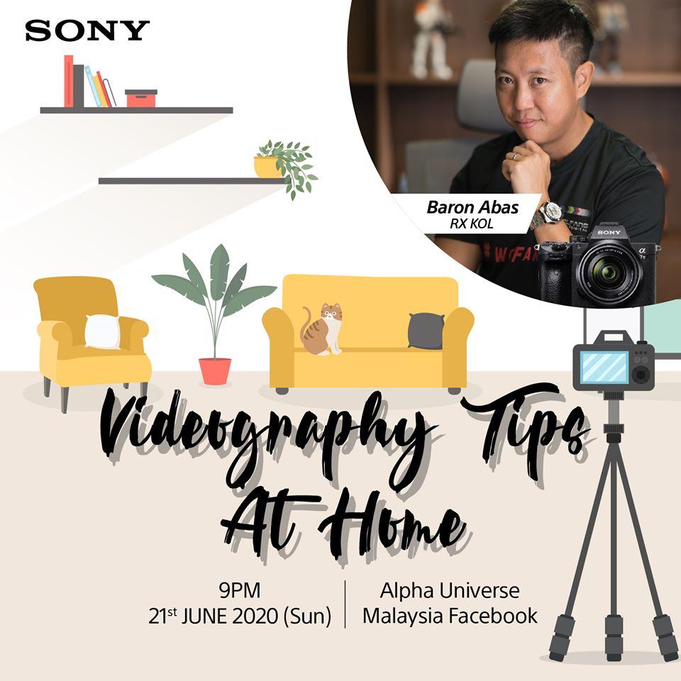 Videography Tips at Home by Baron Abas WolFang Digital