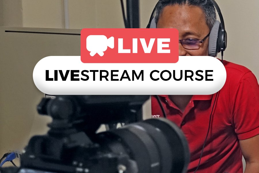 Facebook live, YouTube live courses by WolFang Digital