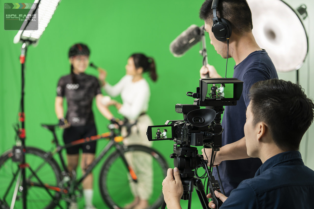 Green screen visual effects class by WolFang Digital