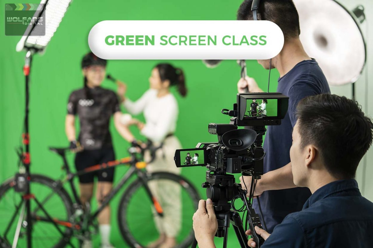Learn how to set up and light a green screen for video