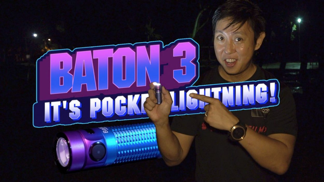 Olight Baton 3 Video Review by Baron Abas