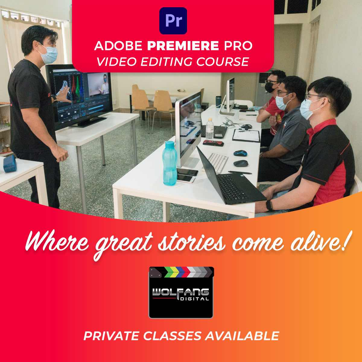 Learn Premiere Pro video editing with professional video editor
