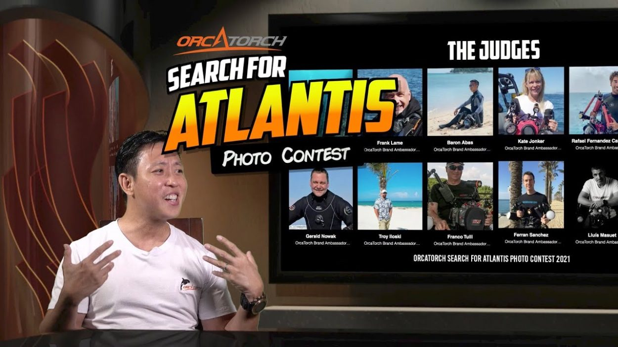 Search for Atlantis Photo Contest with OrcaTorch