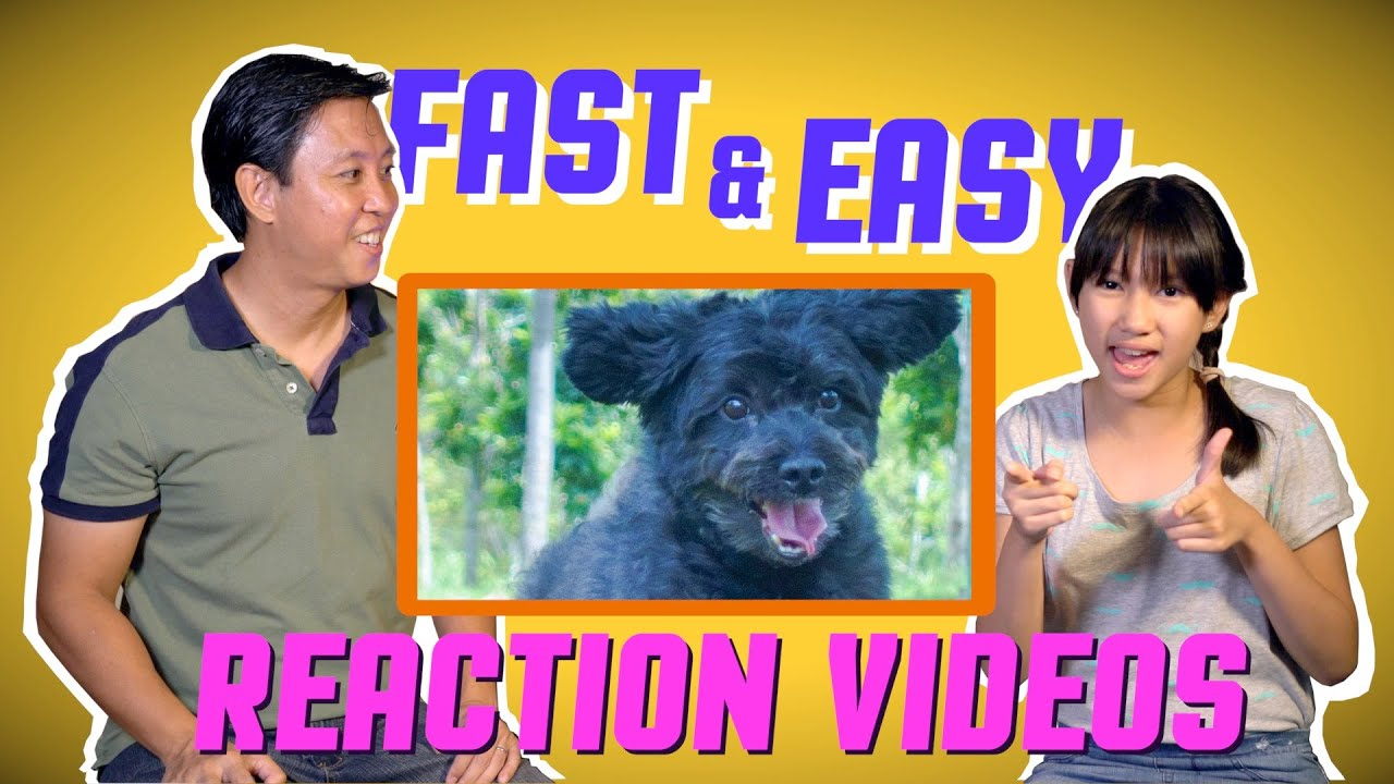 The quick and easy way to make reaction videos