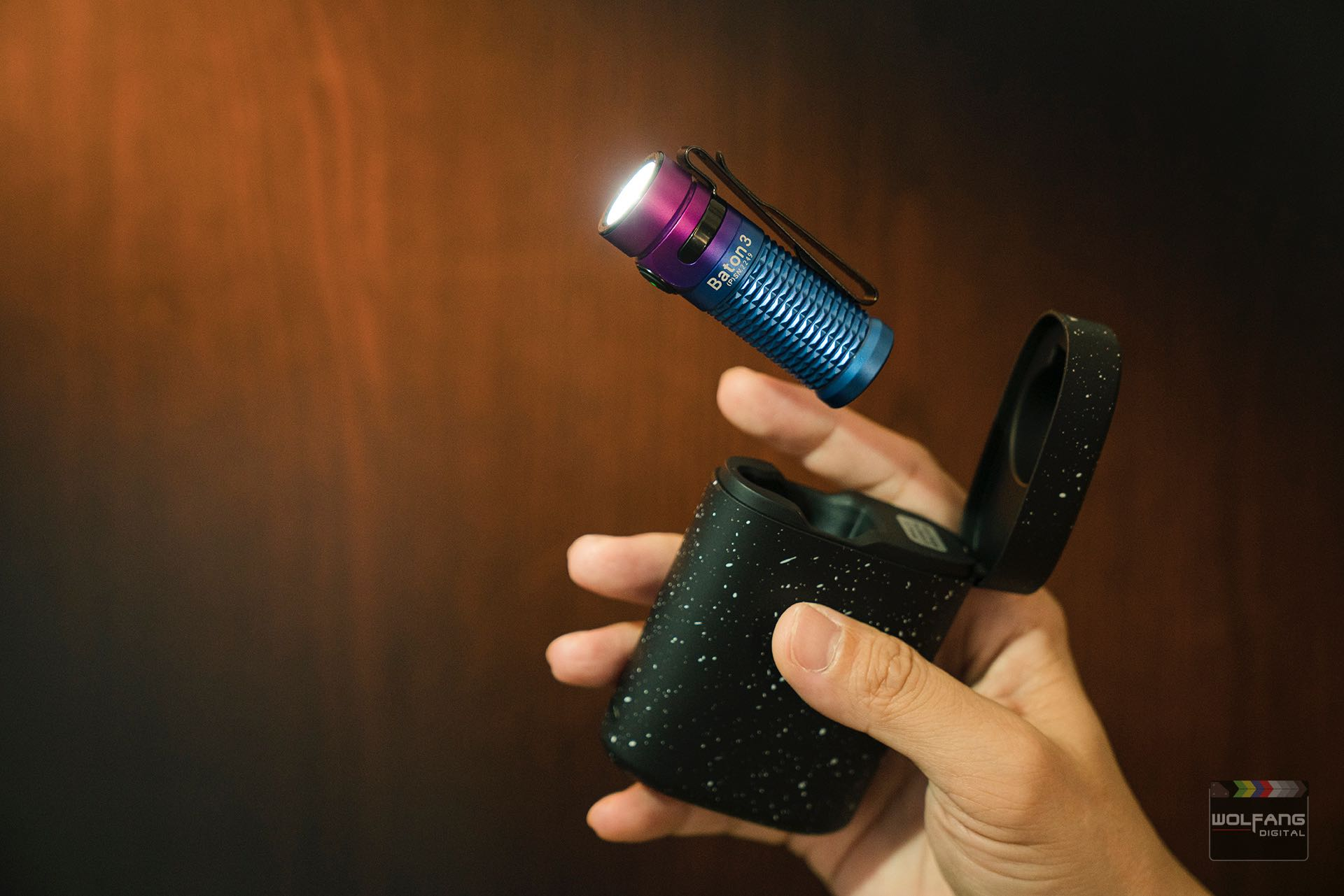 WolFang Photography tip 1- Olight Baton 3 Pocket Light