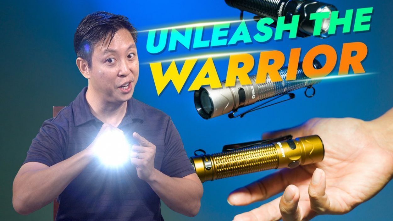 Olight Warrior Mini 2 flashlight review by Baron Abas, WolFang Digital