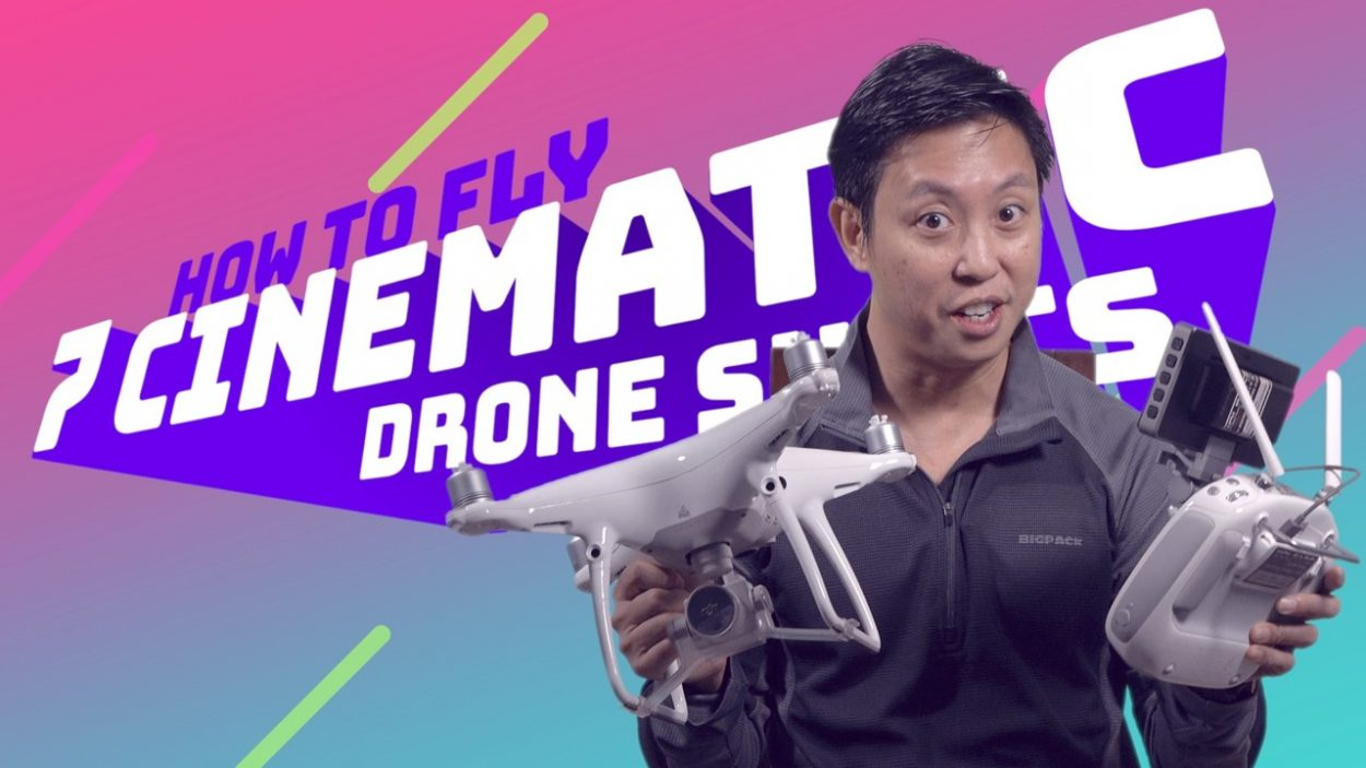 How to shoot cinematic drone videos by Baron Abas at WolFang Digital