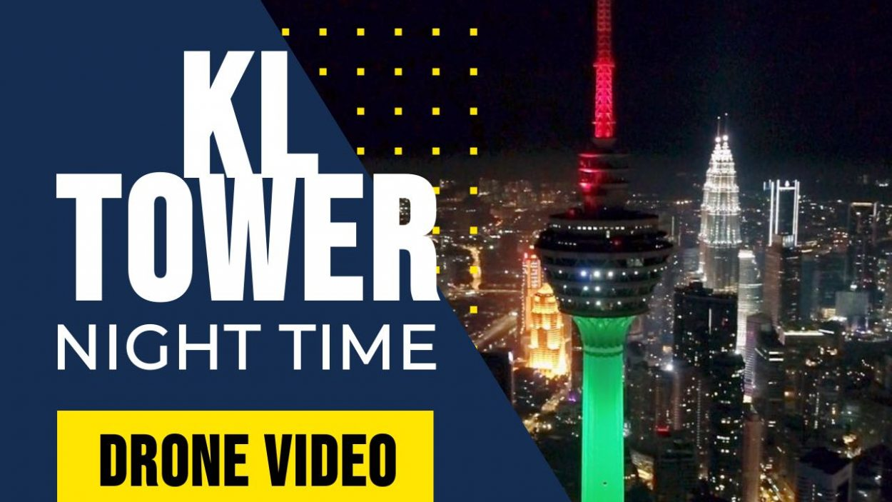 KL Tower Cinematic Drone Videos by WolFang Digital