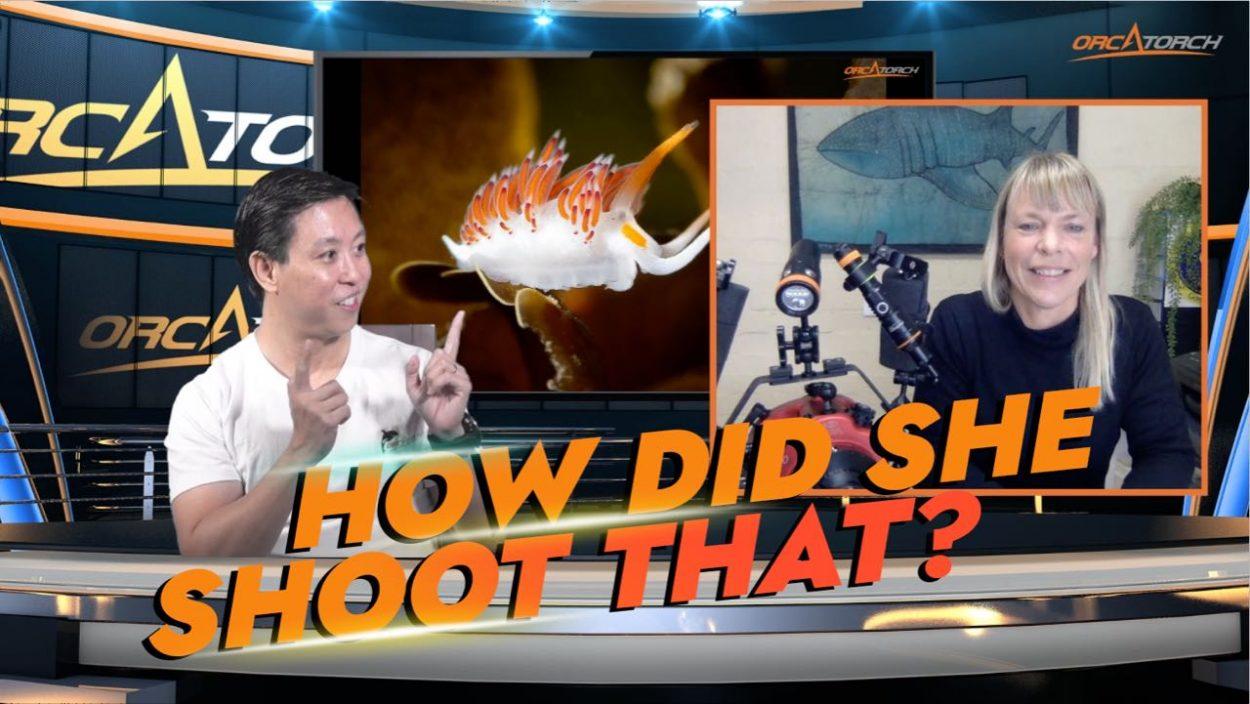Baron interviews Kate Jonker underwater photographer